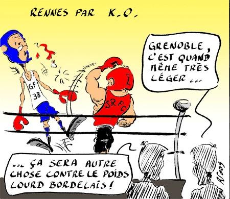 Grenoble 0 - 4 Stade Rennais